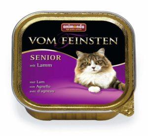 アニモンダ 猫 キャットフード フォムファインステン シニア 鶏肉と子羊肉 100g